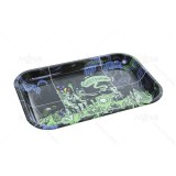 GHOST SHRIMP Metal Rolling Tray 11 inch *7 inch