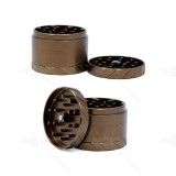 NovaBong new released tyre-stamp faster locked 4 layer multi colors with diamter 63mm aluminum alloy herb grinder