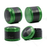 NovaBong new design 4 layer 2.5inch alumimun alloy convex cap herb grinder with wholesale price