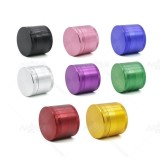 NovaBong new 4 layer aluminum cnc teeth herb grinder spice crusher diameter 55mm multi colors wholesale price
