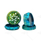 NovaBong offer Starry Sky tobacco Herb Grinder  4 Layers  aluminum alloy with diameter 63mm multi colors