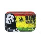 Bob Marley painting Metal Rolling Tray  11 inch *7 inch