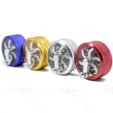 NovaBong new 2 layer aluminum alloy hand operate herb grinder with multi colors