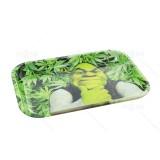 Carton Monster Shrek Metal Rolling Tray      11 inch *7 inch