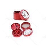 NovaBong new releasd 4 layer diameter 63mm aluminum multi colors hand operated herb grinder