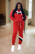 Casual Tracksuit Hooded Two Piece Suits LS-0292