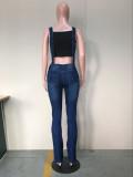 Casual Strap Jeans Skinny Denim Jumpsuits OD-8213