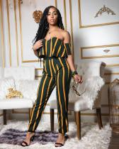 Sexy Off Shoulder Tops And Pants 2 Piece Sets QY-5024