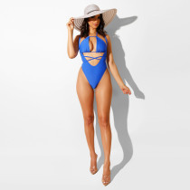Sexy Bikinis Cross Strap Backless One Piece Swimsuit MA-242