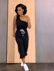 One Shoulder Jumpsuit TR-1005