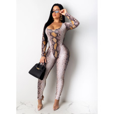 New Fashion Printed Jumpsuit Outfit CHY-1208