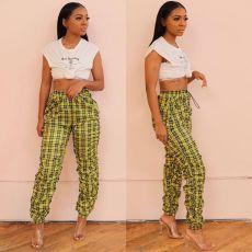 Summer New Hot Sale Folds Casual Pants OD-8348