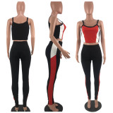 Casual Sports Fitness Two Piece Pants Set MLF-8001