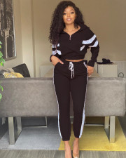 Fashion Casual Tracksuit Two Piece Set MIL-147