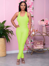Sexy Backless Tight One Piece Jumpsuits MA-380