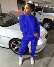 Plus Size Fashion Solid Color Sweatshirt Long Sleeve Sports Two Piece Set SHA-6199