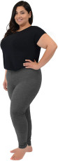 Plus Size 5XL Casual Fashion Solid Color Leggings Pants OBF-9001