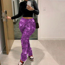 Printed Sports Casual Pants WTF-9053