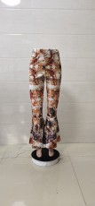 Casual Print Flare Pants WTF-9045