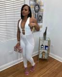 Sexy Sleeveless Hollow Out Jumpsuits MK-3047
