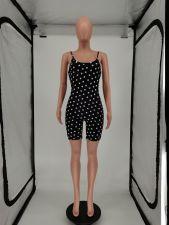 Sexy Fashion Polka Dot Sling Romper SMF-8076