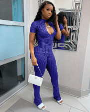 Sexy Short Sleeve Backless Jumpsuits ARM-8250