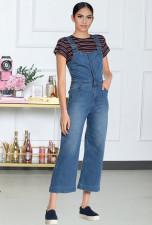 Casual Denim Strap Jeans Jumpsuits LX-6884