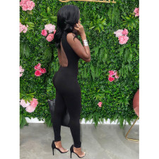 Sexy Lace Up Hollow Out Backless Jumpsuits MDF-5216