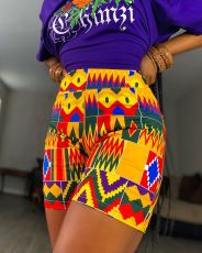Fashion Casual Print Shorts BLI-2292