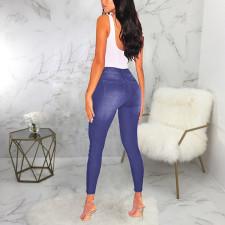 Denim Ripped Skinny Jeans Pants HSF-2447