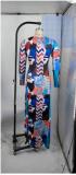 Long Sleeve Backless Sexy Maxi Dress YFF-9749