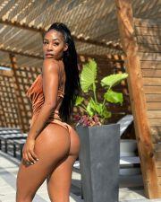 Sexy Velvet Backless Bodysuit ZDF-31130