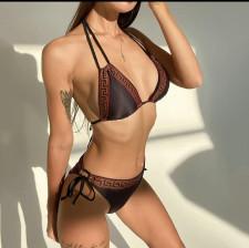 Sexy Swimwear Lace-Up Bikinis 2 Piece Sets LSL-6463