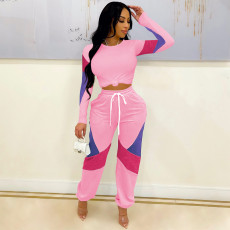 Casual Long Sleeve Two Piece Pants Set LLF-88699