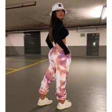 Casual Printed Sports Long Pants YIY-5314