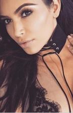 Women Punk Black Lace-Up Choker Necklace YYDF-217