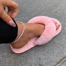 Shiny Rhinestone Foot Ankle Chain BYCF-0047