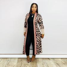 Casual Printed Full Sleeve Long Cloak ME-Q702