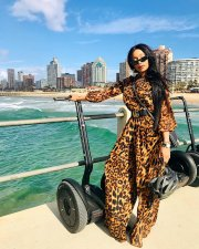 Leopard Print Long Sleeve Loose One Piece Jumpsuits FSL-046
