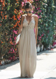 R.Vivimos Women Summer Cotton Spaghetti Straps V Neck Backless Sexy Beach Flowy Long Dresses