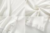 R.Vivimos Women's Summer Blouse Short Sleeve Deep V Neck Button Down T-Shirts Tops