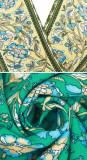 R.Vivimos Women's Summer Short Sleeve Floral Print Bohemian Beach Waist Tie Wrap Long Flowy Dress with Slit