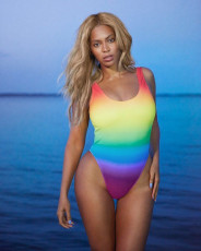 Sexy Gradient Color One Piece Swimsuit QY-5089