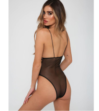 Sexy Hollow Out Teddy Lingerie YQ-349