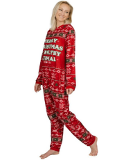 2019 Christmas Women Pajama Jumpsuit G5208