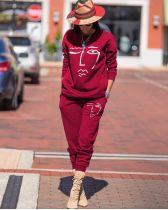 Casual Tracksuit Long Sleeves Two Piece Sets RSN-725