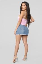 Sexy Bodycon Denim Mini Skirt BS-1054