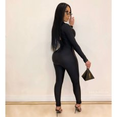 Sexy Long Sleeve Skinny Jumpsuit HMS-302