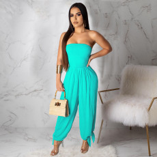 Fashion Sexy Off Shoulder Loose Jumpsuit ML-7205
