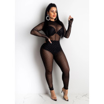 New Fashion Mesh jumpsuit CHY-1207